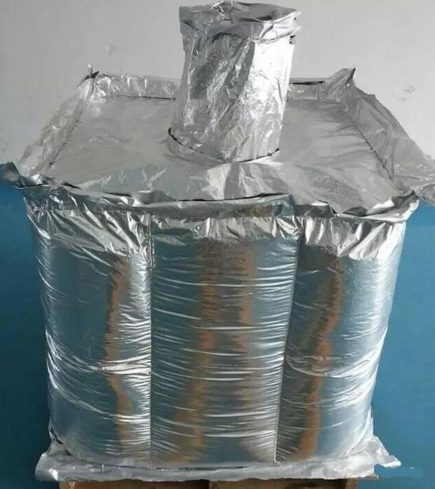 Big bag with aluminum foil liner