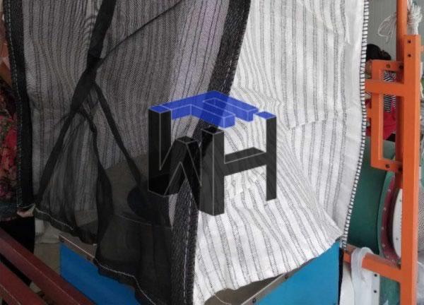 Breathable big mesh firewood bags