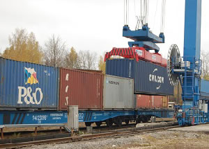 Railway flexitank